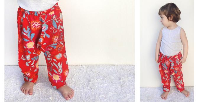 calça SARUEL e PIJAMA - molde e tutorial de costura