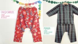 Calça Saruel e Blusa Pijama – lá na lojinha!