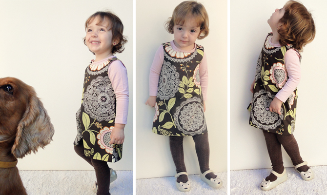 vestido JULIA -molde e tutorial de costura