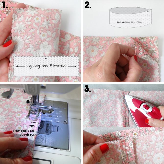 tutorial de costura saia infantil 1