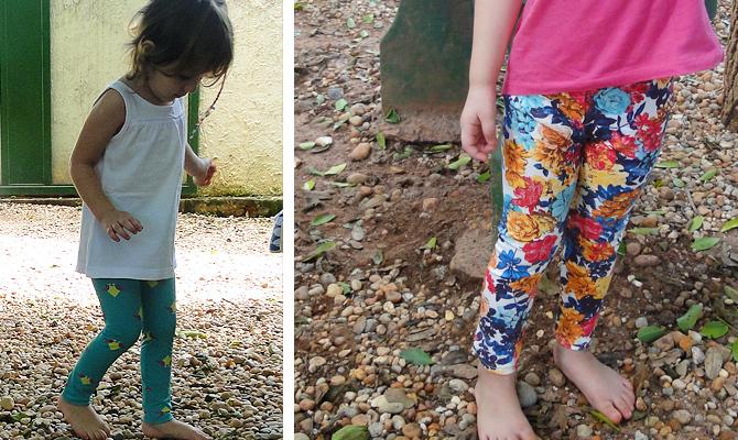 Tutorial e molde grátis calça legging infantil
