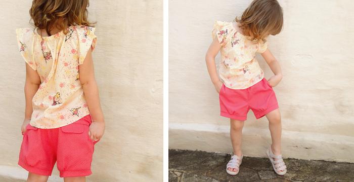 molde e tutorial de costura para short infantil