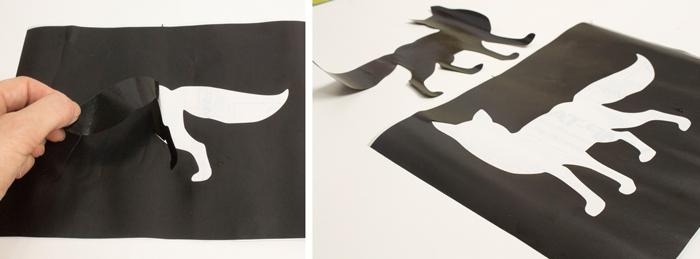 Passo a passo de como criar estampas em tecido com stencil
