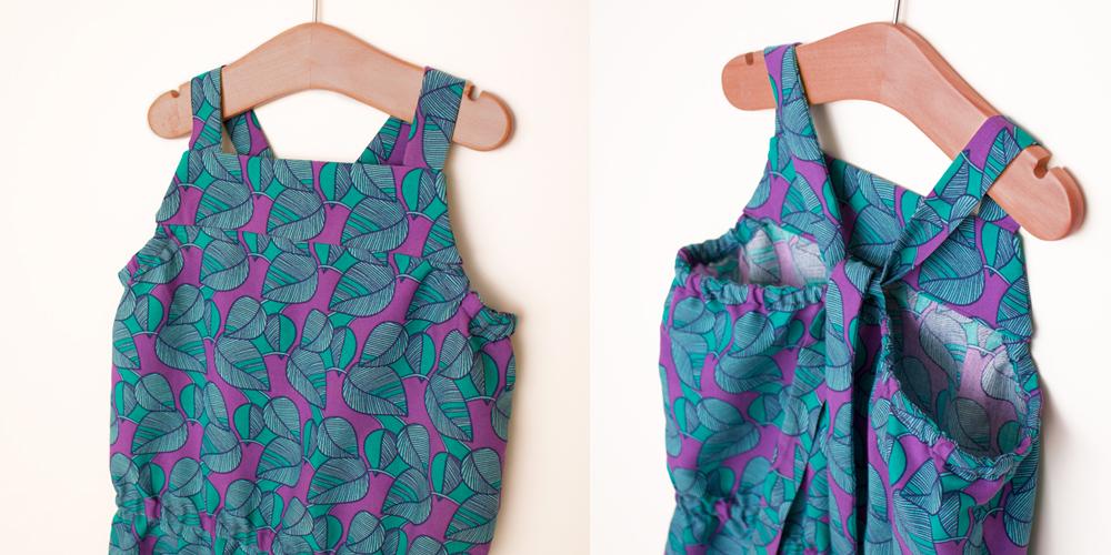 Macacão SOFIA - moldes e tutorial de costura