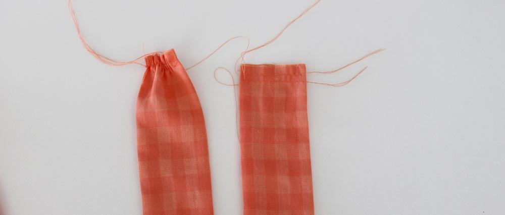 Modificação de moldes: detalhe da faixada cintura - transformando o Vestido Julia em uma saia