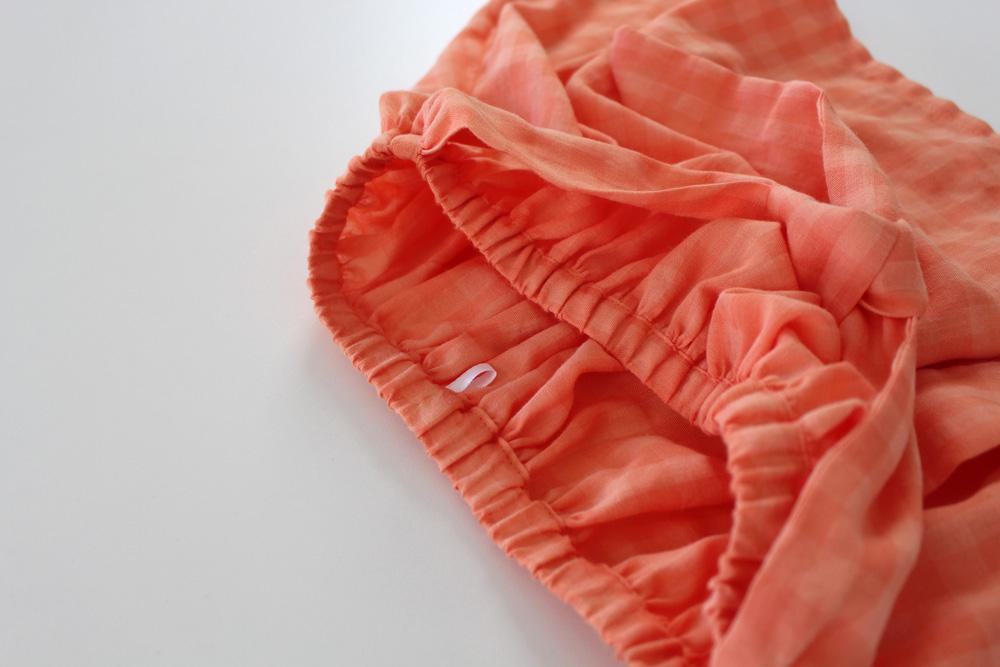 Modificação de moldes: detalhe da marcação das costas - transformando o Vestido Julia em uma saia