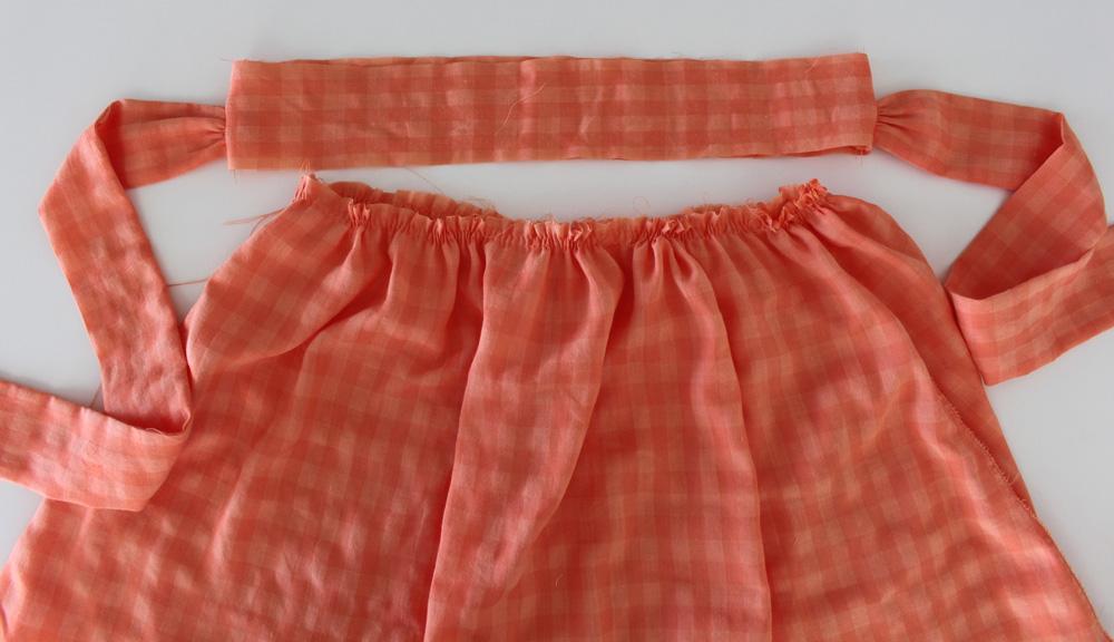 Modificação de moldes: cós e saia franzida - transformando o Vestido Julia em uma saia