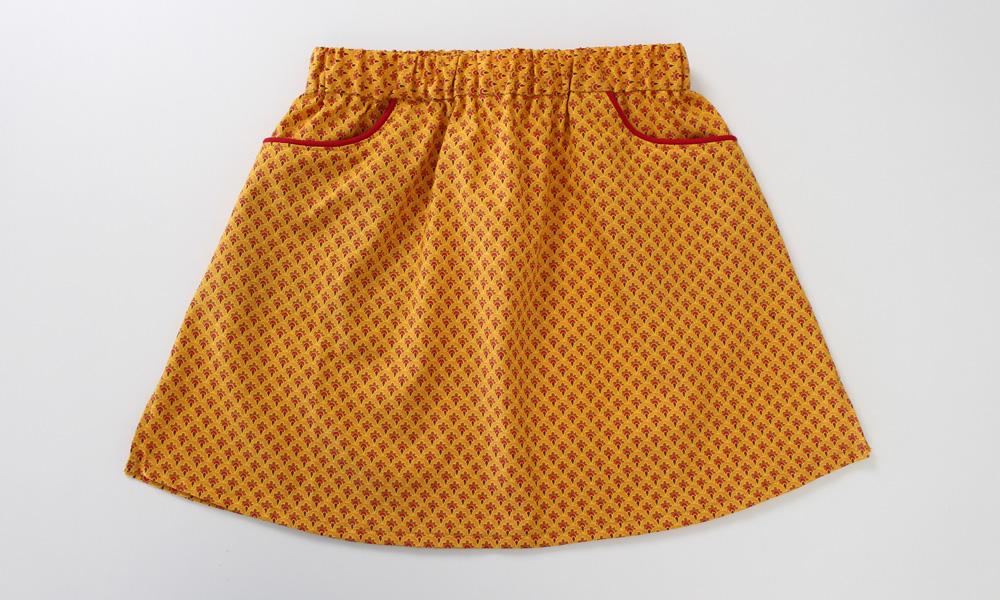 Modificação de moldes: transformando o Vestido Julia em uma saia