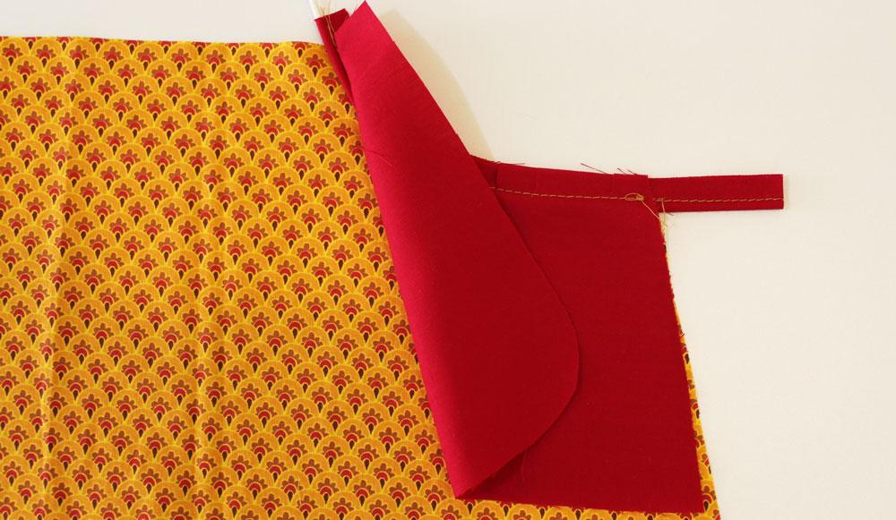 Modificação de moldes: costura do vivo e forro no bolso lateral - transformando o Vestido Julia em uma saia
