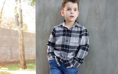 Camisa infantil – molde e passo a passo de costura em PDF