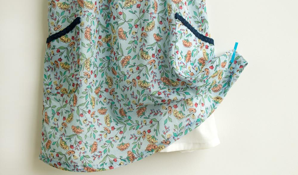 Como costurar um vestido infantil forrado - COSTURINHA