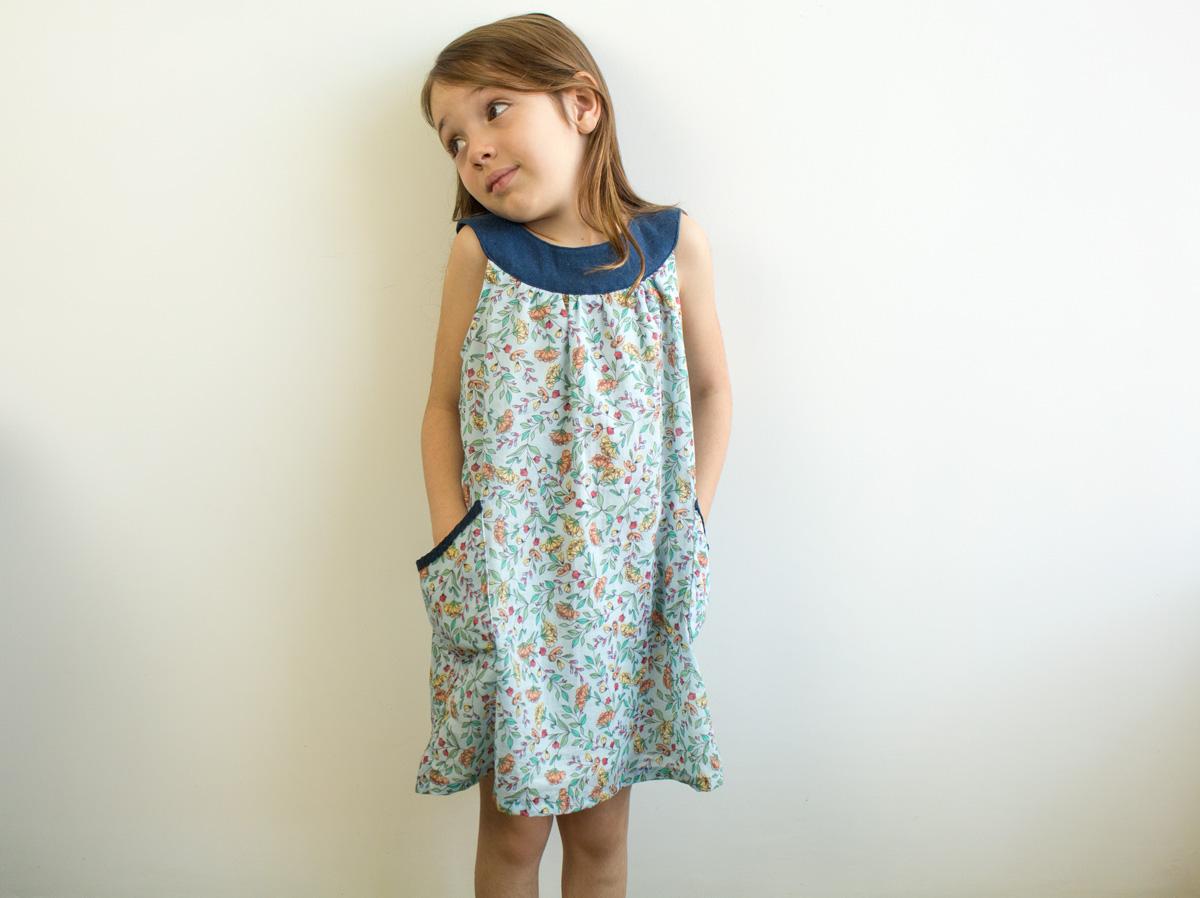 Molde e tutorial de vestido infantil em PDF - COSTURINHA