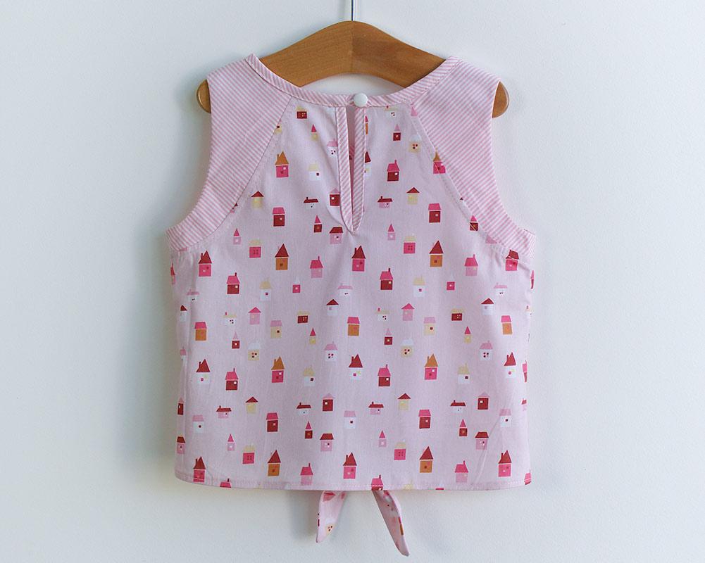 Molde de costura em PDF blusa infantil