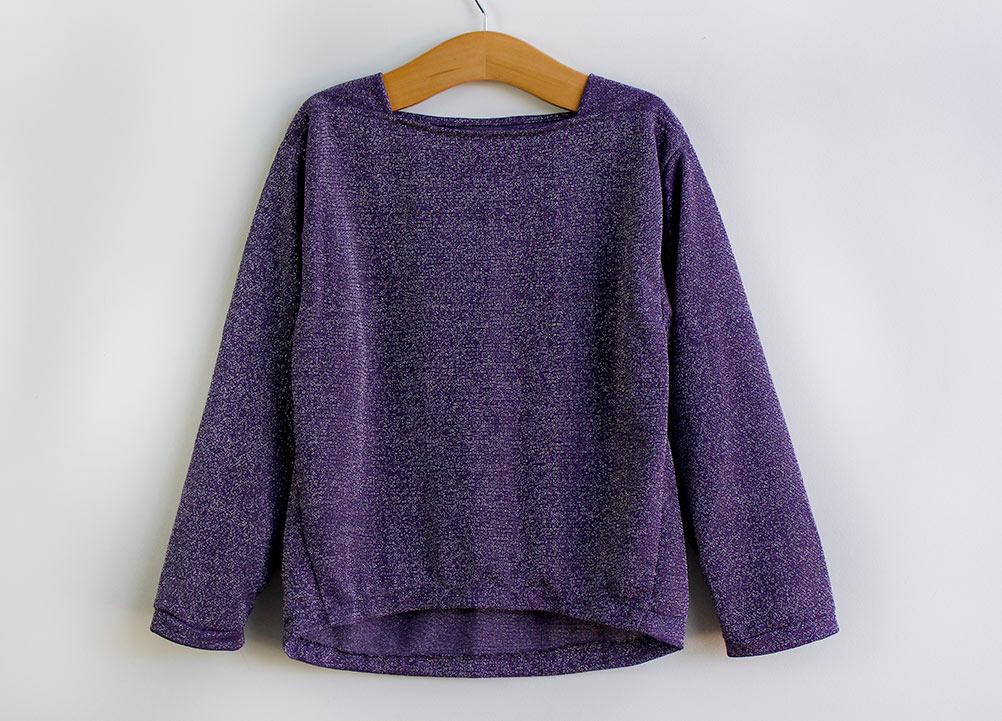 Como costurar uma blusa em malha infantil - apostila