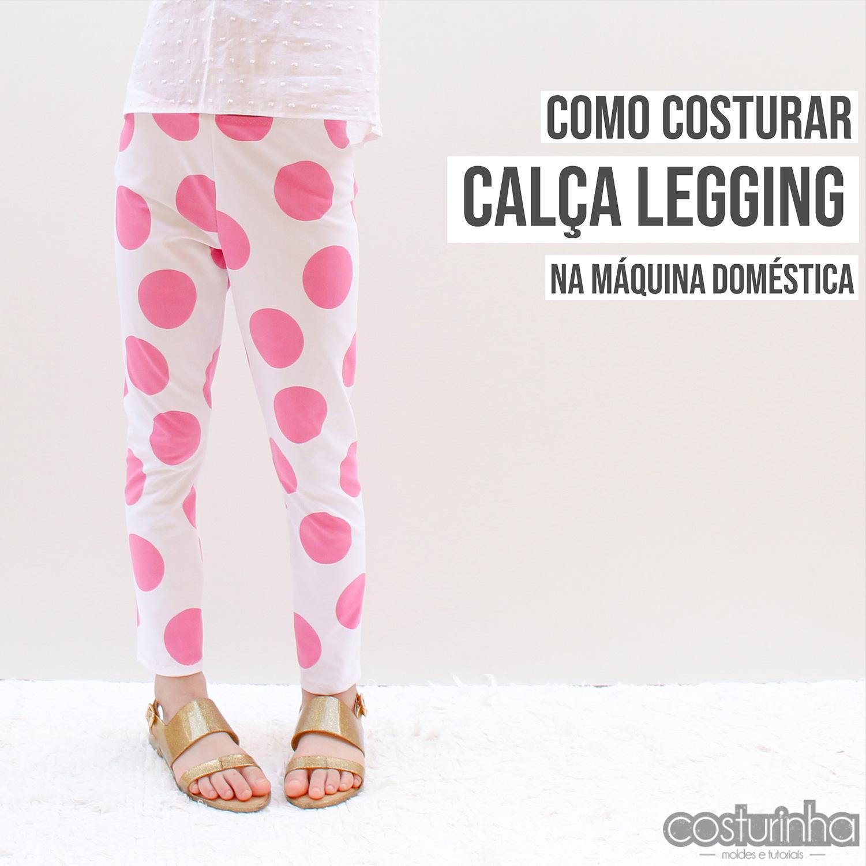 Molde grátis de calca legging PDF download